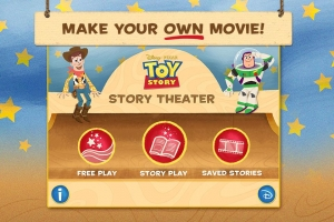 Androidアプリ「Toy Story: Story Theater」のスクリーンショット 1枚目