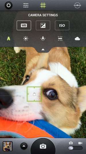 Androidアプリ「Camera Awesome」のスクリーンショット 3枚目
