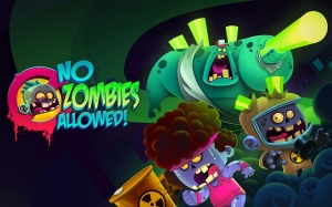 Androidアプリ「No Zombies Allowed」のスクリーンショット 1枚目