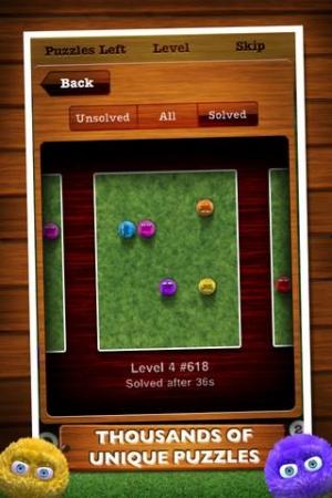 Androidアプリ「Fling!」のスクリーンショット 4枚目