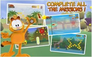 Androidアプリ「Garfield's Wild Ride」のスクリーンショット 3枚目