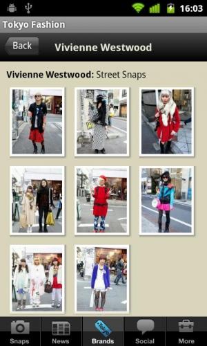 Androidアプリ「Tokyo Fashion」のスクリーンショット 4枚目