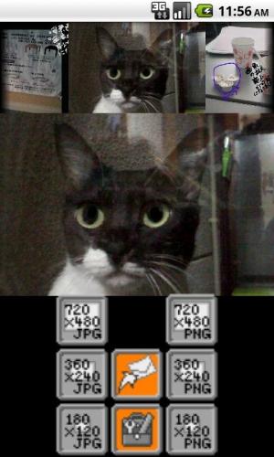 Androidアプリ「スナップメモ 写真手書きメモ」のスクリーンショット 3枚目