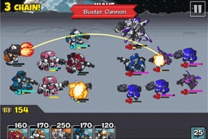Androidアプリ「コンバットボッツ コズミックコマンダー」のスクリーンショット 3枚目