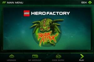 Androidアプリ「LEGO® HeroFactory Brain Attack」のスクリーンショット 5枚目