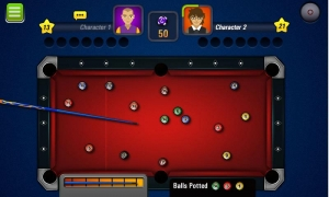 Androidアプリ「3D ビリヤード Pool 8 Ball Pro」のスクリーンショット 1枚目