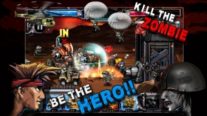 Androidアプリ「ARMY VS ZOMBIE」のスクリーンショット 2枚目