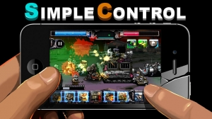 Androidアプリ「ARMY VS ZOMBIE」のスクリーンショット 4枚目