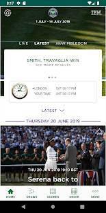 Androidアプリ「The Championships, Wimbledon 2019」のスクリーンショット 3枚目