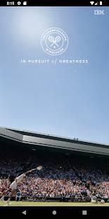 Androidアプリ「The Championships, Wimbledon 2019」のスクリーンショット 1枚目