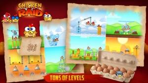 Androidアプリ「Chicken Raid FREE」のスクリーンショット 4枚目