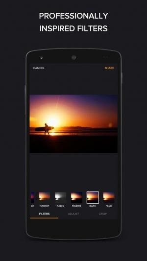 Androidアプリ「Finite - スマートなフォトエディター」のスクリーンショット 2枚目