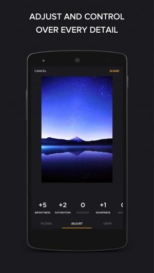 Androidアプリ「Finite - スマートなフォトエディター」のスクリーンショット 3枚目