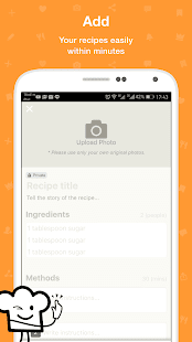 Androidアプリ「Cookpad - home cooking recipe manager」のスクリーンショット 3枚目