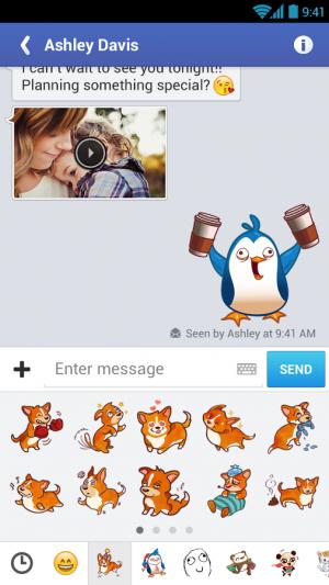 Androidアプリ「MessageMe」のスクリーンショット 4枚目