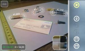Androidアプリ「Partometer3Dカメラのメジャー3D」のスクリーンショット 5枚目