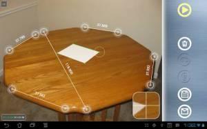 Androidアプリ「Partometer3Dカメラのメジャー3D」のスクリーンショット 4枚目