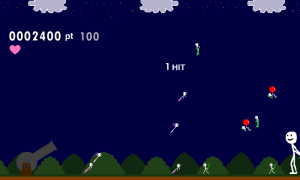 Androidアプリ「砲撃」のスクリーンショット 2枚目