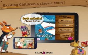 Androidアプリ「ピノキオ - 英語名作童話」のスクリーンショット 1枚目