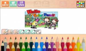 Androidアプリ「Hello Color Pencil」のスクリーンショット 1枚目