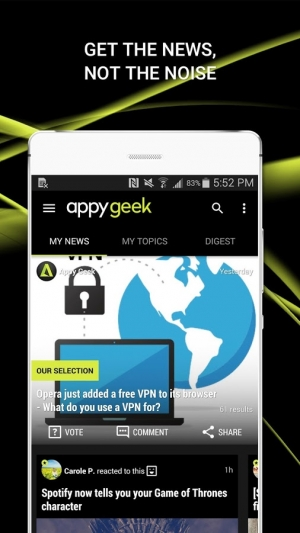 Androidアプリ「Appy Geek – Tech news」のスクリーンショット 4枚目