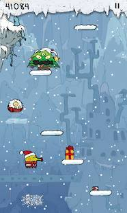 Androidアプリ「Doodle Jump Christmas Special」のスクリーンショット 3枚目