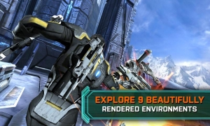 Androidアプリ「MASS EFFECT™ INFILTRATOR」のスクリーンショット 1枚目