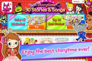 Androidアプリ「Best Storytime」のスクリーンショット 1枚目