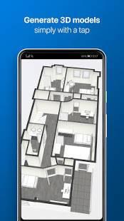 Androidアプリ「magicplan」のスクリーンショット 4枚目
