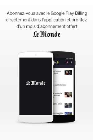 Androidアプリ「Le Monde, l'info en continu」のスクリーンショット 4枚目
