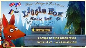 Androidアプリ「Little Fox Music Box」のスクリーンショット 1枚目