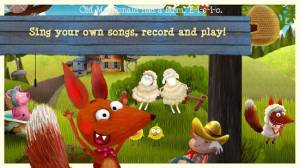 Androidアプリ「Little Fox Music Box」のスクリーンショット 2枚目