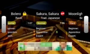 Androidアプリ「ピアノマスター2」のスクリーンショット 4枚目