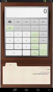 Androidアプリ「の電卓」のスクリーンショット 5枚目