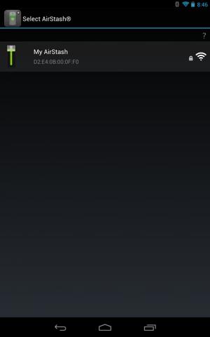 Androidアプリ「AirStash」のスクリーンショット 1枚目