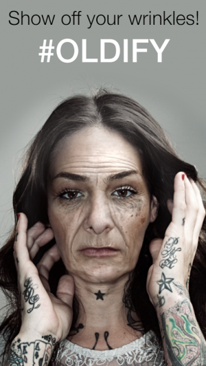 Androidアプリ「Oldify™- Face Your Old Age」のスクリーンショット 5枚目