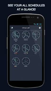 Androidアプリ「3Cycle - Daily Scheduler」のスクリーンショット 4枚目