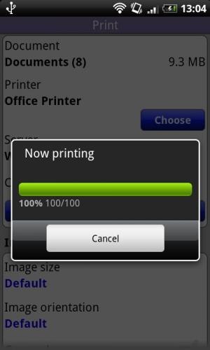 Androidアプリ「Print」のスクリーンショット 2枚目