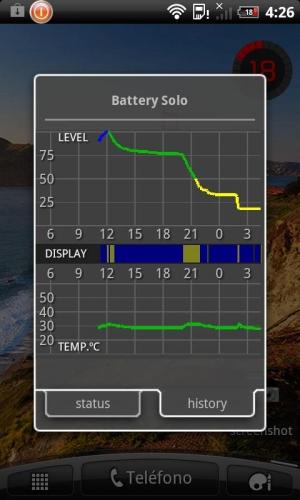 Androidアプリ「Battery Solo Widget」のスクリーンショット 3枚目