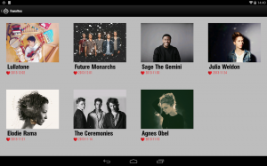 Androidアプリ「Band of the Day」のスクリーンショット 2枚目