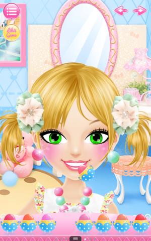 Androidアプリ「Little Girl Salon」のスクリーンショット 4枚目