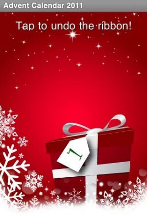 Androidアプリ「2011 クリスマスカレンダー:25のベスト無料アプリ」のスクリーンショット 2枚目