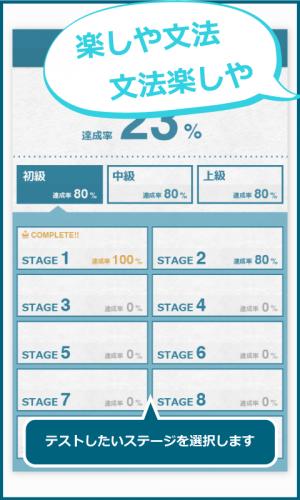 Androidアプリ「まじめな英文法 英語・英会話の基礎である文法を楽しく学ぶ!」のスクリーンショット 2枚目