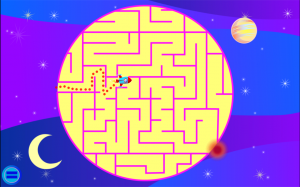 Androidアプリ「Wee Kids Mazes」のスクリーンショット 1枚目