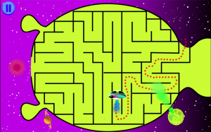 Androidアプリ「Wee Kids Mazes」のスクリーンショット 2枚目