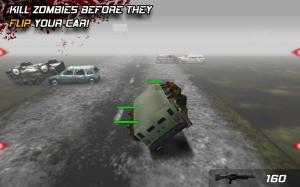 Androidアプリ「Zombie Highway」のスクリーンショット 2枚目
