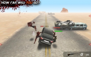 Androidアプリ「Zombie Highway」のスクリーンショット 1枚目
