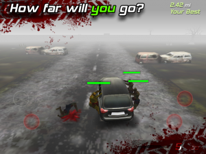 Androidアプリ「Zombie Highway」のスクリーンショット 5枚目