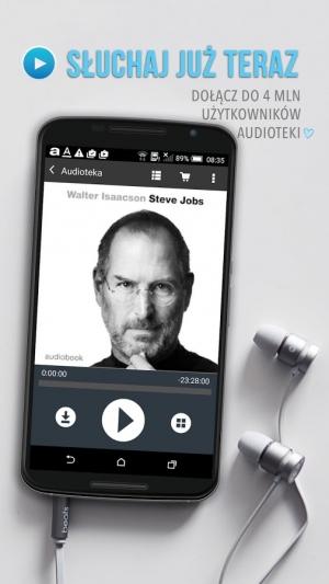 Androidアプリ「Audioteka - audiobook+」のスクリーンショット 5枚目