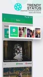 Androidアプリ「UC Mini-Download Video Status & Movies」のスクリーンショット 5枚目